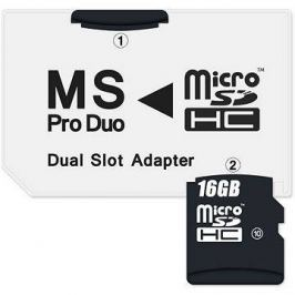 CONNECT IT MS PRO DUO na 2x Micro SDHC