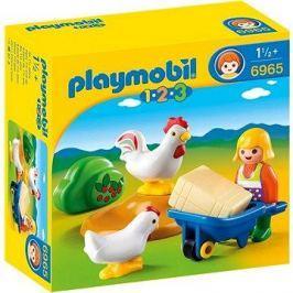 Playmobil 6965 Farmářka s kuřaty