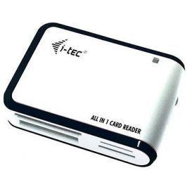i-TEC USB 2.0 All-in One reader černo-bílá