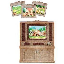 Sylvanian Families Nábytek – skříňka s barevnou televizí