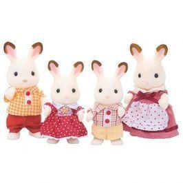 Sylvanian Families Rodina chocolate králíků