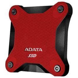 ADATA SD600 SSD 256GB červený