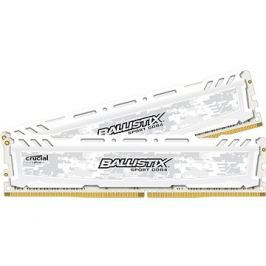 Crucial 16GB KIT DDR4 2666MHz CL16 Ballistix Sport LT Dual Ranked White