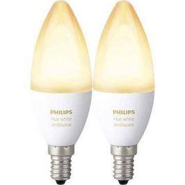 Philips Hue White Ambiance 6W E14 set 2ks