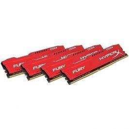 HyperX 64GB KIT DDR4 2400MHz CL15 Fury Red Series