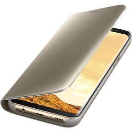 Samsung Clear View Standing EF-ZG955C Galaxy S8+ zlaté