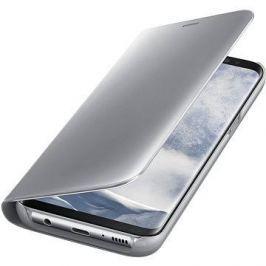 Samsung Clear View Standing EF-ZG955C Galaxy S8+ stříbrné