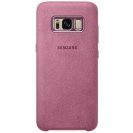Samsung EF-XG950A Alcantara Cover pro Galaxy S8 růžové