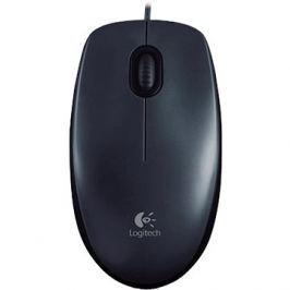 Logitech Mouse M100 šedá