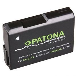 PATONA pro Nikon EN-EL14 1100mAh Li-Ion Premium