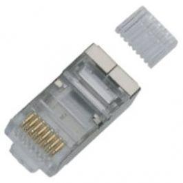 100-pack, Datacom RJ45, CAT6, STP, 8p8c, stíněný, na drát