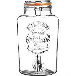 KILNER Skleněný nápojový automat 8l klasický