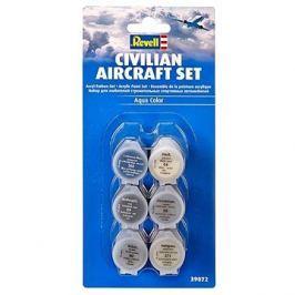 Revell Sada barev 39072 – Civillian Aircraft Set