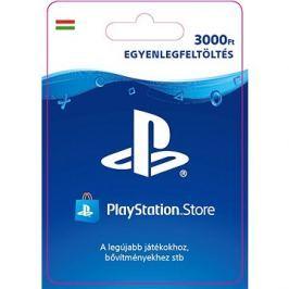 PlayStation Store - Kredit 3000Ft - PS4 HU Digital