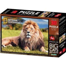 National Geographic 3D Puzzle Lev 500 dílků