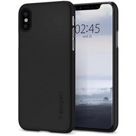 Spigen Thin Fit Black iPhone X