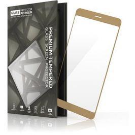 Tempered Glass Protector Rámečkové pro Honor 8 Pro / V9 Zlaté