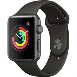 Apple Watch Series 3 42mm GPS Vesmírně šedý hliník s šedým sportovním řemínkem