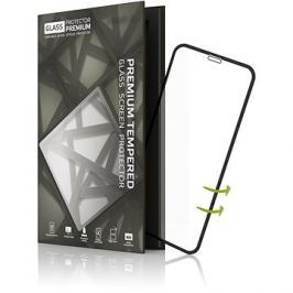 Tempered Glass Protector pre iPhone X/XS - 3D GLASS, čierne