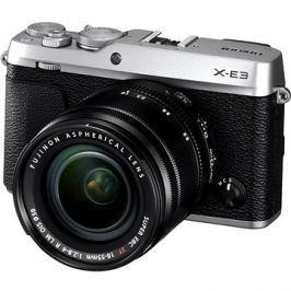 Fujifilm X-E3 stříbrný + XF 18-55mm