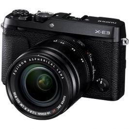Fujifilm X-E3 černý + XF 18-55mm