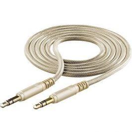 Cellularline Unique Design audio cable pro iPhone zlatý