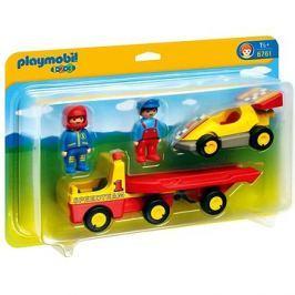 Playmobil 6761 Závodní auto s přívěsem pro přepravu