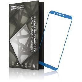 Tempered Glass Protector 0.3mm pro Honor 9 Lite modrý rám