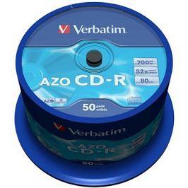VERBATIM CD-R 80 52x CRYST. spindl 50pck/BAL