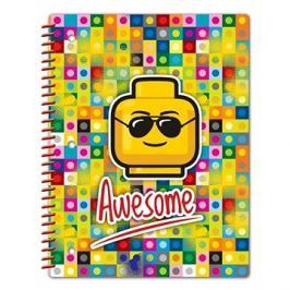 LEGO Iconic Spirálový Sešit - Awesome