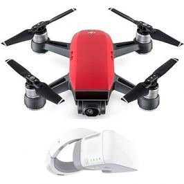 DJI Spark Fly More Combo - Lava Red + DJI Goggles