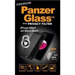 PanzerGlass Premium Privacy pro Apple iPhone 6/6s/7/8 černé
