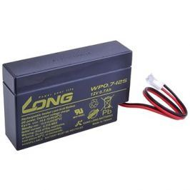 Long 12V 0.7Ah olověný akumulátor JST (WP0.7-12S)