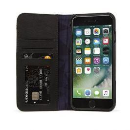 Decoded Leather Wallet Case 2 Black iPhone 8 Plus/7 Plus/6s Plus