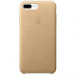 iPhone 7 Plus Kožený kryt žlutohnědý