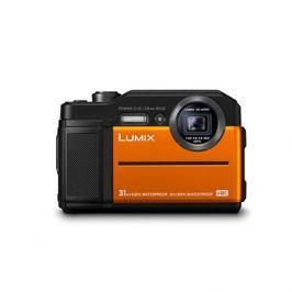 Panasonic LUMIX DMC-FT7 oranžový