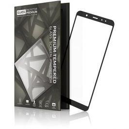 Tempered Glass Protector Rámečkové pro Samsung Galaxy A6 Černé