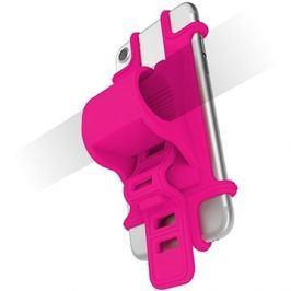 CELLY EASY BIKE pro telefony k upevnění na řídítka růžový