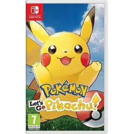 Pokémon Lets Go Pikachu! - Nintendo Switch