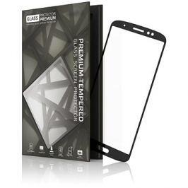 Tempered Glass Protector Rámečkové pro Moto G6 Plus Černé
