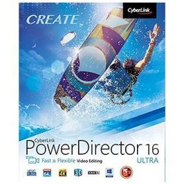 CyberLink PowerDirector 16 Ultra (elektronická licence)