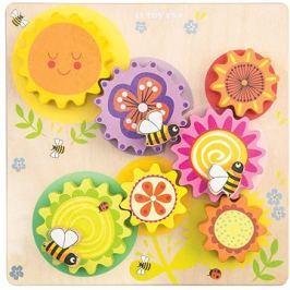 Le Toy Van Petilou Motorický labyrint včelka