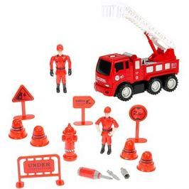 Sada hasiči - auto se žebříkem šroubovací