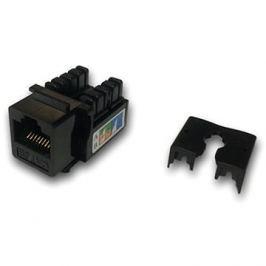 Datacom  RJ45 UTP CAT5E (DUAL) MINI černý