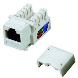Datacom  RJ45 UTP CAT5E (DUAL) MINI bílý