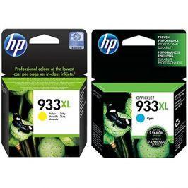 HP CN056AE + HP CN054AE č. 933XL žlutá + azurová Hangtechnika