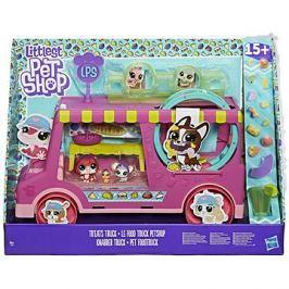 Littest Pet Shop Cukrářský vůz s 5 zvířátky