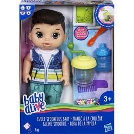 Baby Alive Tmavovlasý chlapeček s mixérem Hangtechnika