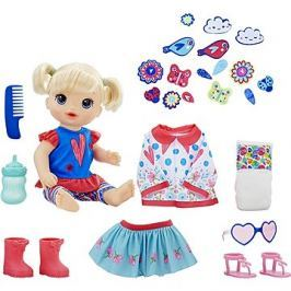 Baby Alive Panenka s náhradním oblečením BL Kert