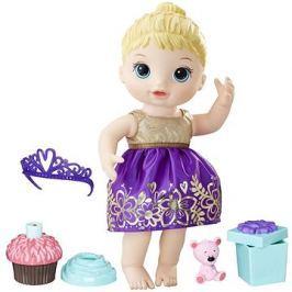 Baby Alive Narozeninová blonďatá panenka